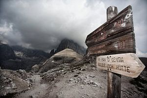 Sextner Dolomites in Italy van