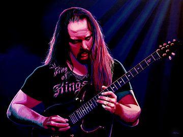 John Petrucci Schilderij von Paul Meijering