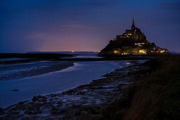 Le Mont Saint-Michel ochtendgloren van Kevin Gysenbergs
