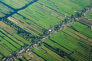 Nederland van boven von BTF Fotografie