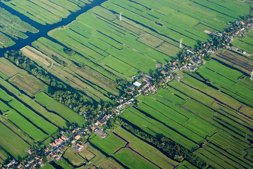Nederland van boven van BTF Fotografie
