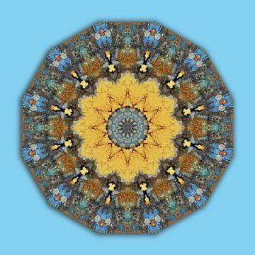 Rust-Mandala, Rost-Art von Barbara Hilmer-Schroeer