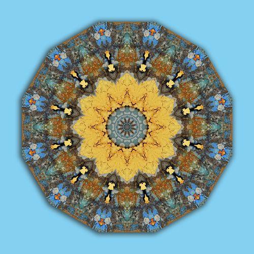 Mandala - Colors of Rust, Rust-Art
