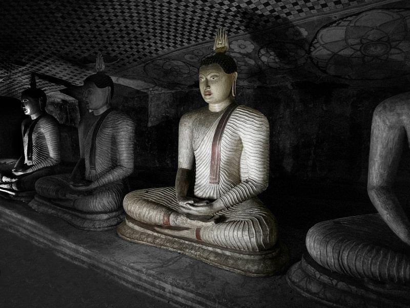 Höhlenbuddha von Eddie Meijer