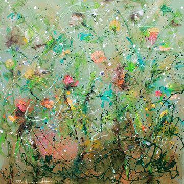 Wild Flower 4 van Atelier Paint-Ing