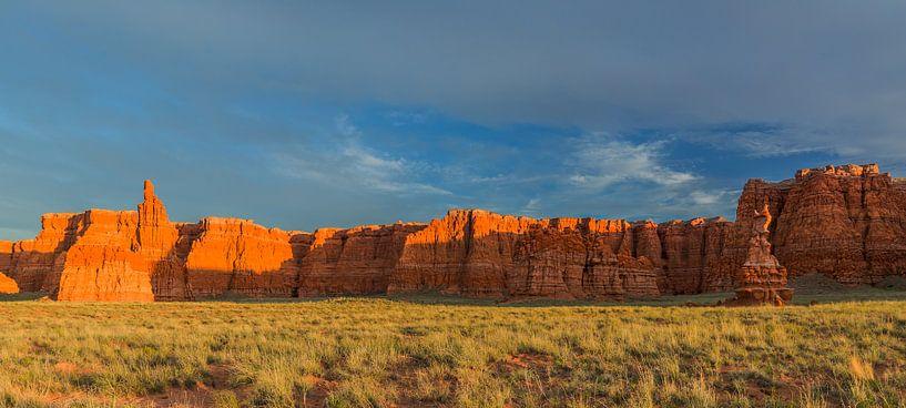 Arizona sunset van Henk Meijer Photography