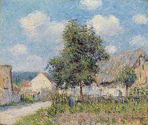 Gustave Loiseau~Bauernhaus in Vaudreuil