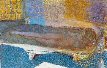 Nackte Frau in der Badewanne - 1936 von Atelier Liesjes