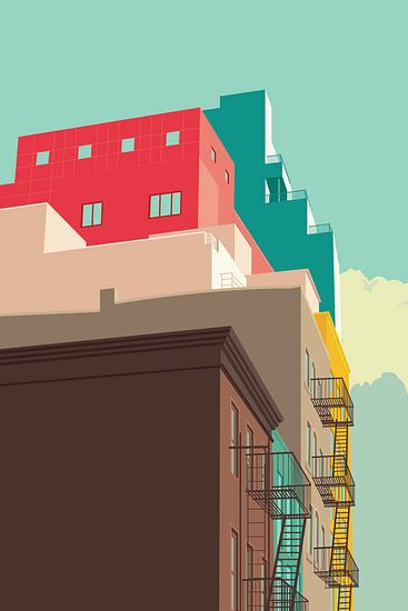 East Village NYC van Remko Heemskerk