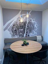Klantfoto: Vestingstad - Gorinchem van Dennis Morshuis, als naadloos behang