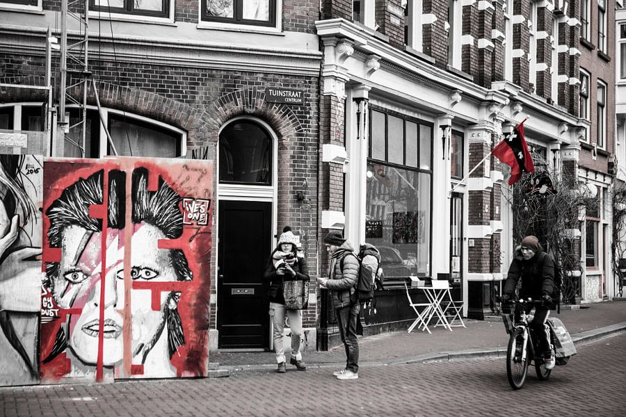 David Bowie Street Art Amsterdam