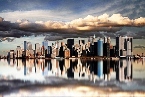 New York City Skyline van Marcel Schauer
