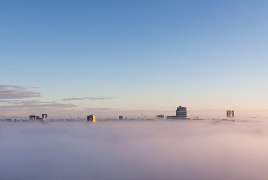 Groningen in de Mist van Frenk Volt