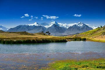 Uitzicht over de Andes von Oscar Leemhuis