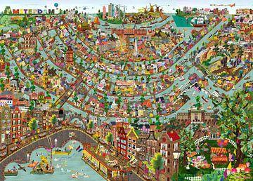 Amsterdam - Aussichtsplattform von Studio POPPY