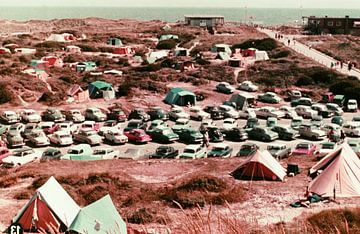 Oldtimer-Camping von Jaap Ros