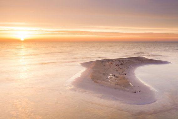 Geboorte van een eiland van Ton Drijfhamer