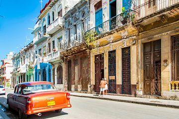 Kleurrijk Havana, colorful 7 van Corrine Ponsen