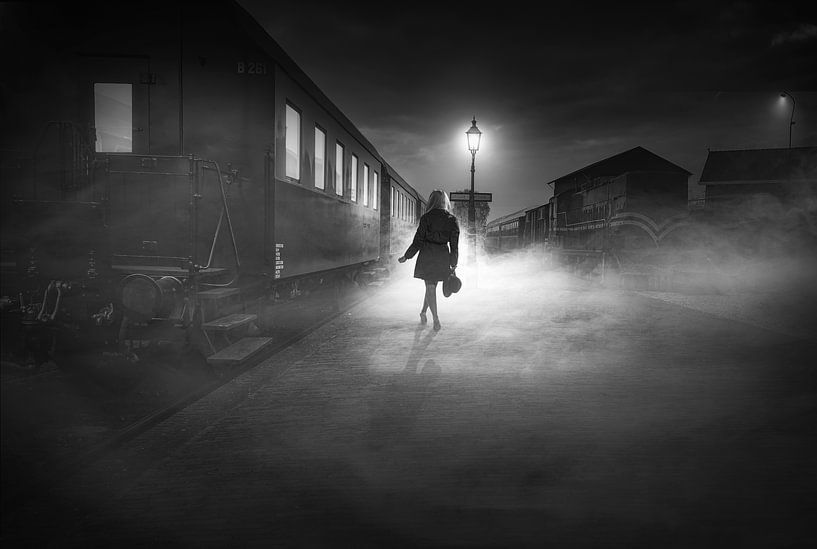 Leaving steam van Arjen Roos