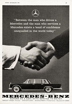 Mercedes-Benz Grand 600 Werbung 1964