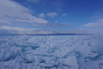 Winter am Baikalsee von Jildau Schotanus