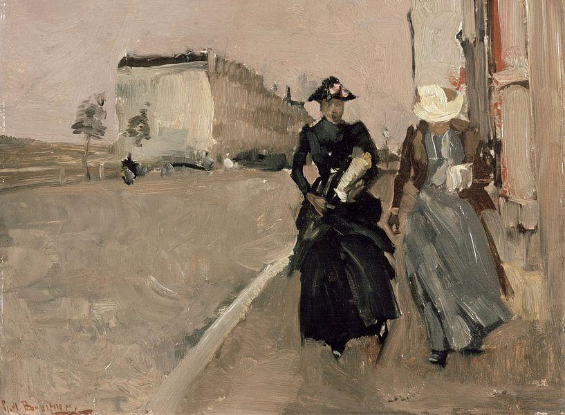 George Hendrik Breitner. Windstoot van 1000 Schilderijen