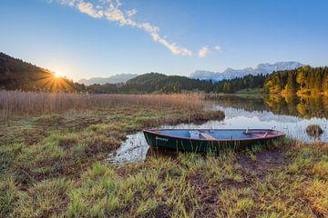 Lake Gerold in Bavaria van