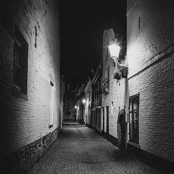 Maastricht - Blik in de Lantaarnstraat