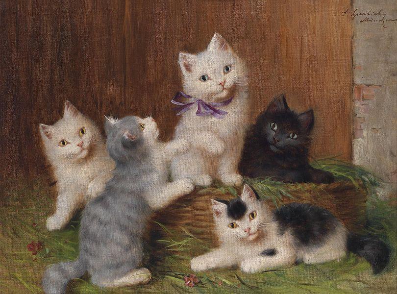 Sophie Sperlich. Kattenkinderen van 1000 Schilderijen