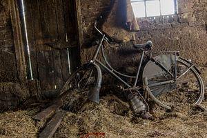 oude fiets van Elly Olsman