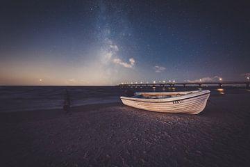 Sterrenhemel boven de Oostzee van Skyze Photography by André Stein