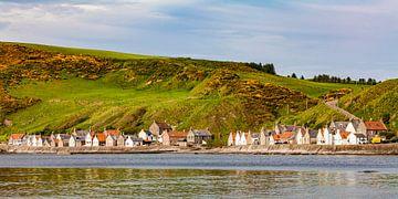 Vissersdorp Crovie in Schotland van Werner Dieterich
