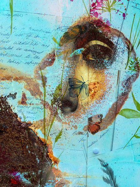 The eye and the butterfly van Gabi Hampe
