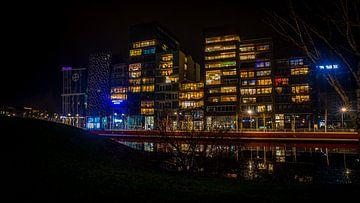 Zilverparkkade Lelystad III van Gerard Koster Joenje (Vlieland, Amsterdam & Lelystad in beeld)