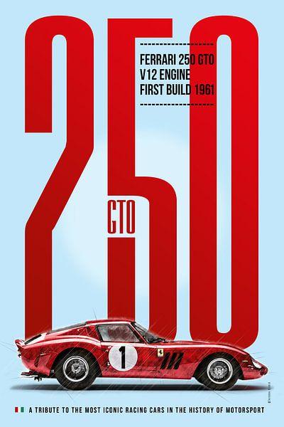 Ferrari 250 GTO von Theodor Decker