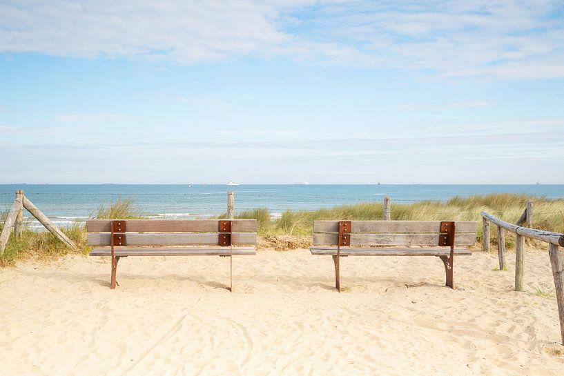 Rustplaats aan zee van Monique van Genderen (in2pictures.nl fotografie)