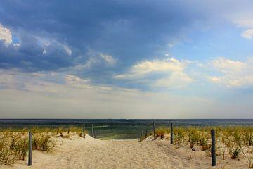 Gewitter naht van Ostsee Bilder