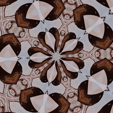 Kaleidoskop-Brauntöne von Greta Lipman