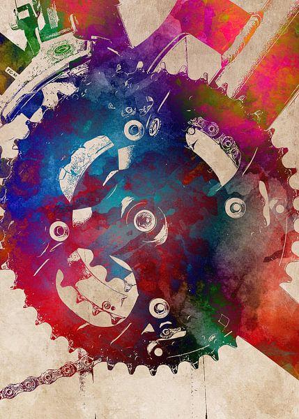 Radfahren Fahrrad Sport Kunst #Radfahren #Fahrrad von JBJart Justyna Jaszke