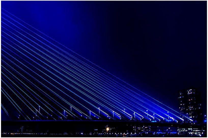 Bridge in Blue van Henk Langerak