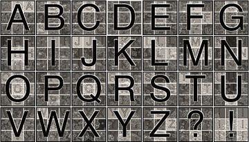 Alfabet nr.6 van Leopold Brix