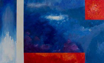 De 4 elementen van André Bikker - graVuur & schilderijen