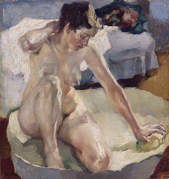 In der Badewanne II, Leo Putz - 1911 von Atelier Liesjes