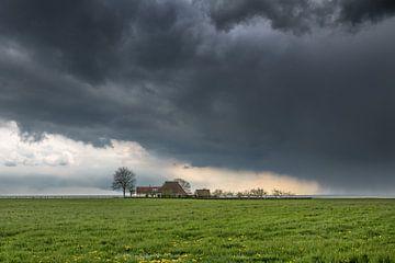 Gaasterland aan de rand van het IJsselmeer van Harrie Muis