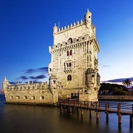 Torre de Belem (Lissabon) van Frank Herrmann