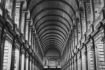Bibliothek des Trinity College von Summer van Beek
