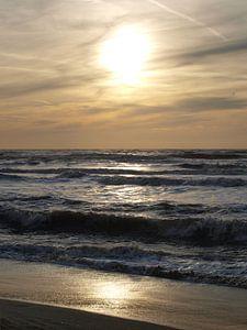 Huisduiner strand van