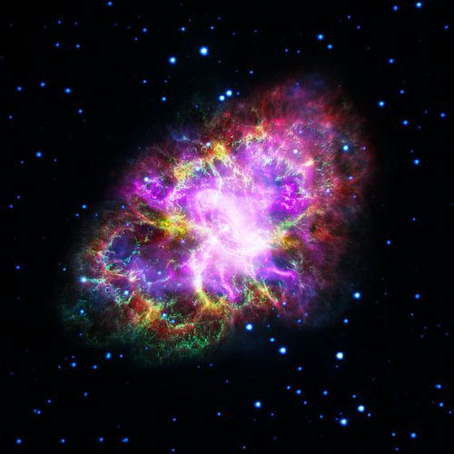 NASA Hubble ruimte foto van