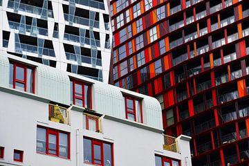 Hoogbouw in Rotterdam van Ronald Kleine