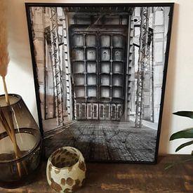 Klantfoto: Schachtbok van de mijn van Genk  van Marc Arts, op fotoprint